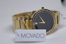 New Men's Movado authentic Stiri 0606195 0.80ct.aprx.custom set Diamond watch