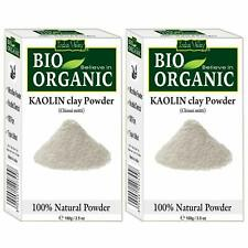 New Bio Organic Kaolin Powder For Skin Face Mask Pack of 2 100gm Each