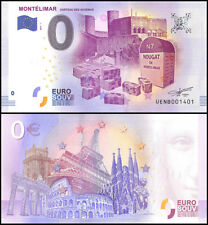 Zero (0) Euro Europe, 2017 - 1 (1st Print), UNC, Nougat Montelimar in France