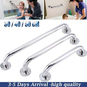 30-50cm Stainless Steel Grab Bar Handle Aid Support Bathroom Shower Safety Rail