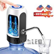 5 Gallon USB Water Bottle Jug Dispenser Automatic Universal Electric Switch Pump