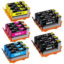 15PKs Ink Cartridge For HP 564 XL PhotoSmart Premium C309 C310 C410 C510