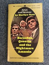 Barnabas Quentin And The Nightmare Assassin Marilyn Ross Dark Shadows Gothic Pb