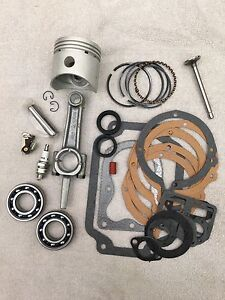 Deluxe Master K181 Engine Rebuild Kit for 8HP KOHLER, M8 W/ Ex valve & bearings