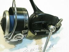 GARCIA MITCHELL 300A FISHING REEL LITE USED SUPER NICE ROTOR BAIL HANDLE FRANCE