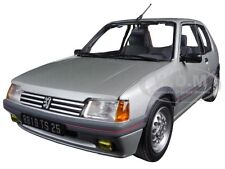 1988 PEUGEOT 205 GTI 1.6 FUTURA GREY METALLIC 1:18 MODEL CAR BY NOREV 184852