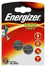 Energizer CR2025 DL2025 Batteries Twin Pack