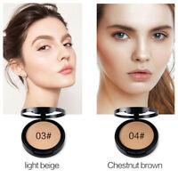 Beauty Face Pressed Powder Compact Contour Foundation Makeup Skin Tools