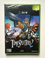 Time Splitters 2 Xbox Original Microsoft Factory Sealed Brand New EUR Very Rare