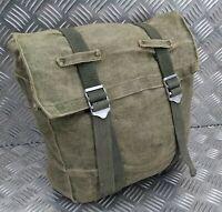 Genuine Vintage Military Issue Heavy Duty Canvas Back Pack Pannier Side Bag CVG2