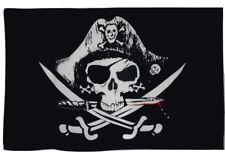 Pirate Skull Crossed Swords 5 Foot Wide Flag