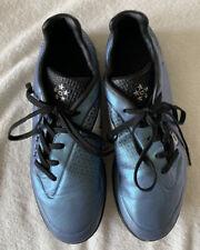 Carbrini Boys Girls Astro Turf Boots 3G Football Trainers - Blue - UK 5