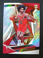 L47 COBY WHITE 2019 PANINI REVOLUTION BASE ROOKIE RC #106 CHICAGO BULLS