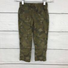 Tea Collection Green Cargo French Terry Playwear Pants Boys Size 5 Years