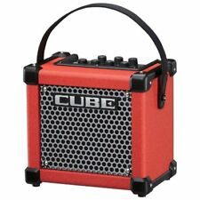 Roland guitar amp micro cube GX M-CUBE GXR red Japan new.