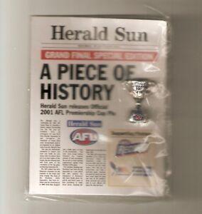 Herald Sun 2001 Premiership Cup Pin