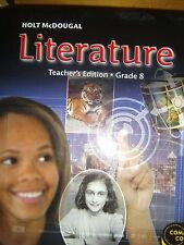 Middle school literature fiction hardcover textbooks educational or best offer holt mcdougal literature grade 8 teachers ed common core 9780547618456 fandeluxe Image collections