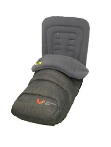 Brand new in bag Cosatto deluxe 2 in 1 Footmuff & Liner in bumpngo Grey Fox