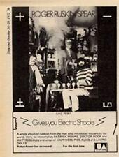 Roger Ruskin Spear Bonzo Dog Electric Shocks LP advert Time Out cutting 1972