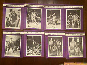 Kansas State 1980-1982 Lot of 17 Basketball Programs