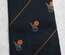 Vintage Tie MENS Necktie Crested Club Association Society SILK