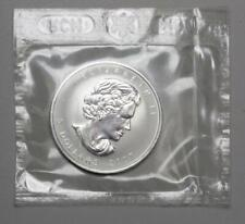 "2007 CANADA 5 DOLLARS REVERSE PROOF ""PIG"" ONE TROY OUNCE .999 SILVER COIN!"