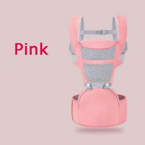 Baby carrier backpack with baby seat and multi-functional kangaroo waist chair