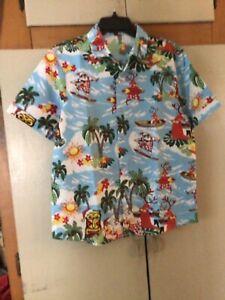 Hawaiian Shirt Christmas Theme Never Worn  with Lie