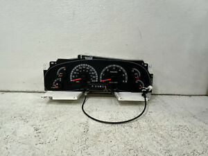 1999 Ford Expedition cluster speedometer gauges tach panel NO LENS COVER oem