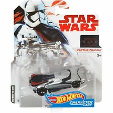 Hot Wheels Mattel Star Wars Collectible Character Car Captain Phasma Vehicle New