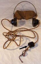 Casque écouteurs YA 5000 pour radio GB WW2 (N°1) anglais
