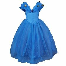 JerrisApparel New Cinderella Dress Princess Costume Butterfly Girl, 8 Years