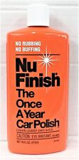 Nu Finish The Once A Year Car Polish 16 oz