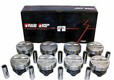 SPEED PRO Chevy 350/5.7 LT1 Hypereutectic Coated Skirt Pistons+MOLY Rings std