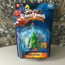 Power Rangers Dino Thunder GREEN TRIPTOID 5 INCH#MOSC CARDED RARE