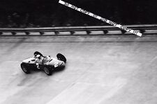 "9x6 Photograph, Phil Hill   "" Sharknose "" Ferrari 156 V6   Italian GP Monza 1961"