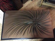 Copper Over Black Linished Swirl Designer Radiator 600/1000 4000btu