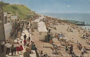 Postcard - Sheringham - West End Promenade and Beach
