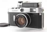 【N MINT-】 Canon P Rangefinder Camera w/ 50mm f1.8 Lens + light meter From JAPAN