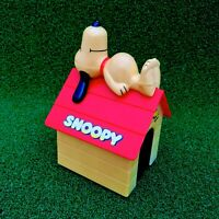 Vintage 1958 Snoopy Kennel Motorised Car Battery Operated Charlie Brown Peanuts