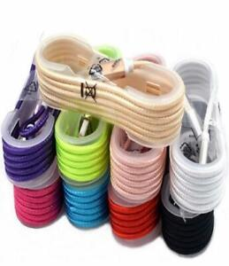 10x Lot of 5FT Heavy Duty USB Braided Charger Cable Cord for iPhone 7 8 X