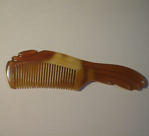 Natural Buffalo horn comb for Straight hair, Handmade Anti Static horn comb