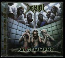 Denial No Comment CD Sacred Reich D.R.I Slayer Exodus Nuclear Assault Testament