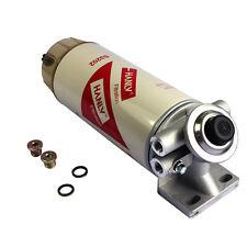 New listing Jdmspeed 30 Micron Diesel Fuel Filter Water Seperator Hand Primer Pump 3/8 Npt
