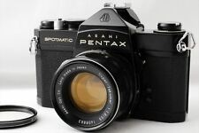 【EXC++】Pentax SP Spotmatic Black Film Camera 55mm f/1.8 Lens Kit From Japan#A391