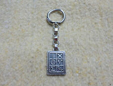 Rare James Avery Key Chain IXOYE ichthus Sterling Silver Christ God's Son Savior