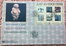 UNITED NATIONS 2004 INDIGENOUS ART FIRST DAY COVER GENEVA