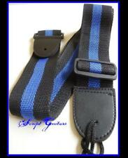 Replacement Classic Blue  Electric, Acoustic, Bass, Classical  Guitar strap