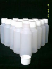 3 x 500 ml plastic clear bottles ideal for hobby / craft / travel / medicine