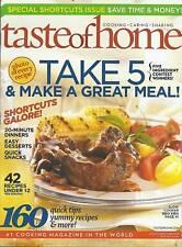 A Taste of Home magazine BBQ Ribs Dinners Snacks Desserts Budget recipes